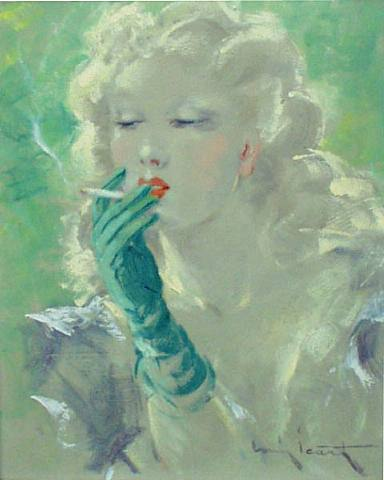 Etchings by  Art Deco Artist Louis Icart