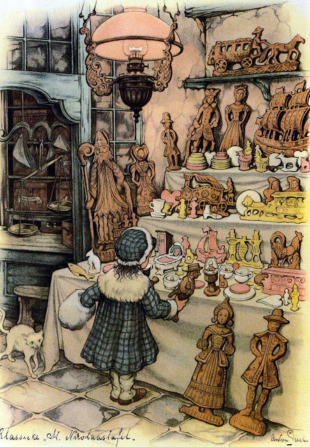 Illustration by Anton Pieck Dutch Artist