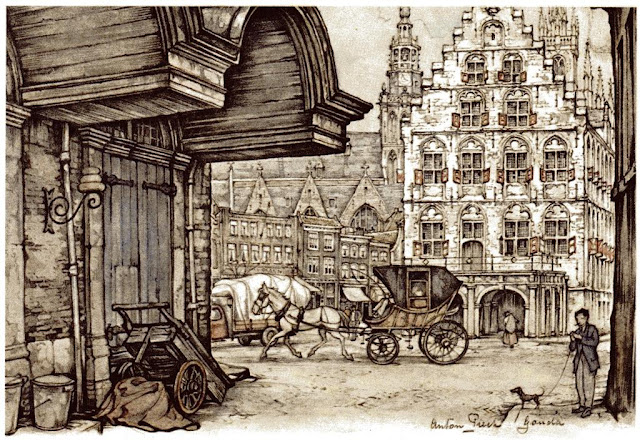 Art of  Dutch Artist Anton Pieck