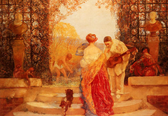 Painting by Gaston de LaTouche French Artist