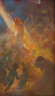 Painting by French Artist Gaston de LaTouche