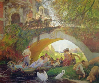 Paintings by French Artist Gaston de LaTouche