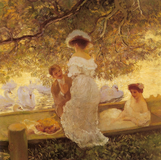 Paintings by Gaston de LaTouche French Artist
