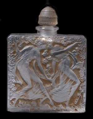 Art of Rene Lalique French Designer Perfume Bottles