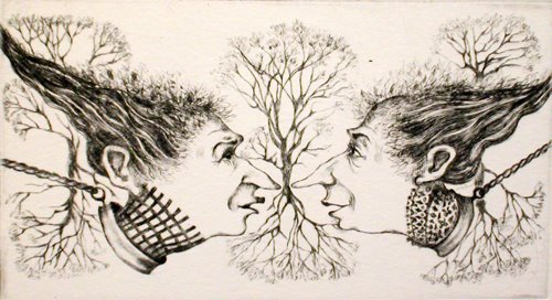 Engravings by French Artist Sare, contemporary art, contemporary artists, engraving, French artists, graphics