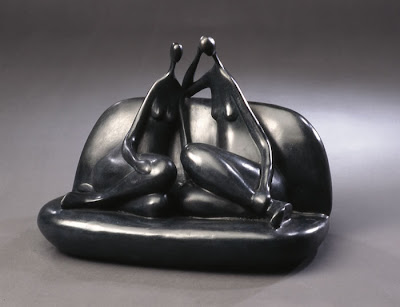 Artwork of French Sculptor Marie-Madeleine Gautier