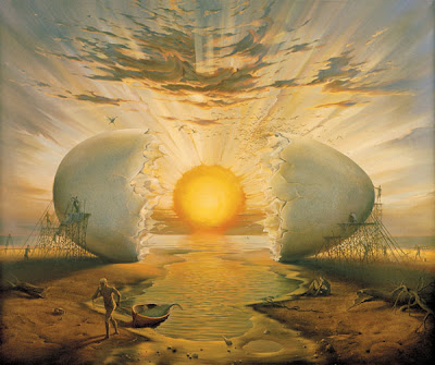 Paintings by Surrealist Artist Vladimir Kush