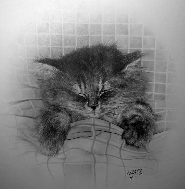 Pencil Drawings by Hong Kong Artist Paul Lung