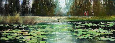 Kabul Adilov. Lake