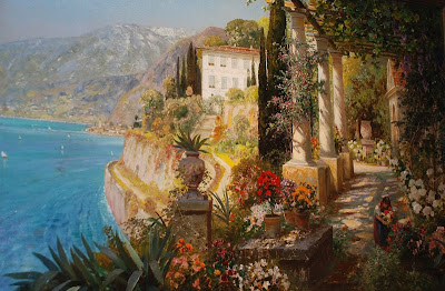 Alois Arnegger. Amalfi Coast