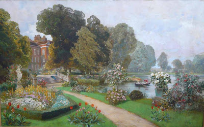 Alois Arnegger. The Palace Garden