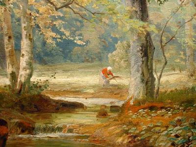 Alois Arnegger. Forest. Detail