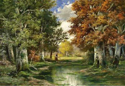 Alois Arnegger. Summer Landscape