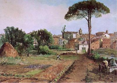 Ettore Roesler Franz. Prati di Castello in Rome