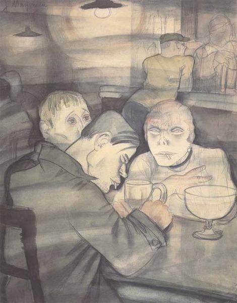 Jeanne Mammen, German artist,Weimar era artist, graphics