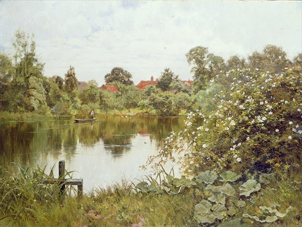 Edward Wilkins Waite. The Time of Wild Roses, Paddington Mill Pond.