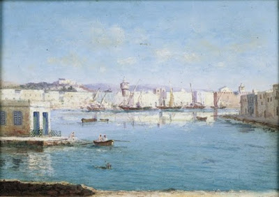 Painting Ulisse Caputo