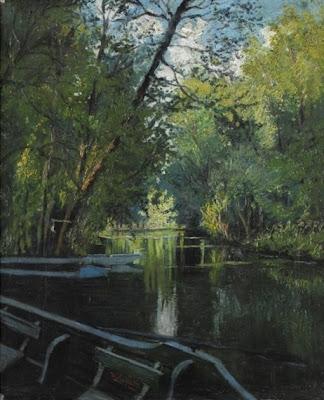 Ulisse Caputo's landscapes