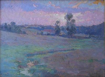 Ulisse Caputo's paintings