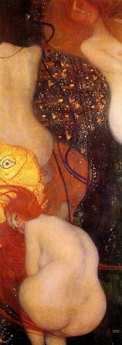 Goldfish by Gustav Klimt, Goldfish in Painting