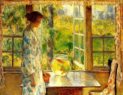 Painting by Frederick Childe Hassam