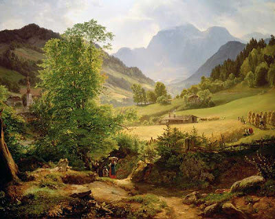Friedrich Loos' Painting