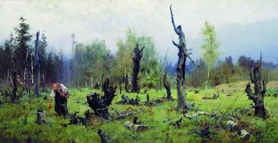 Vasily Polenov's Landscape
