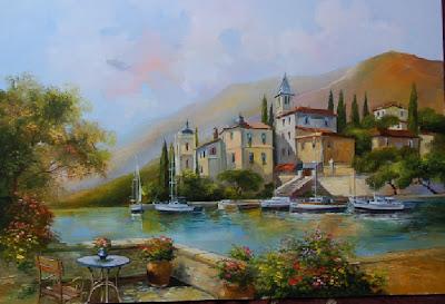 Hungarian Artist's Landscapes. Zsolt Fekete