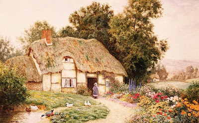 Watercolors by Arthur Claude Strachan