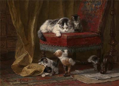Henriette Ronner-Knip's Painting
