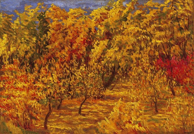 Autumn Painting by Hungarian Artists. Bela Balla