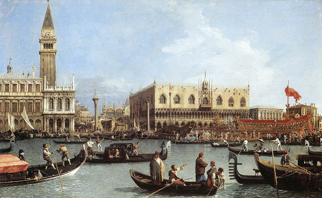 Painting of Venice by Canaletto