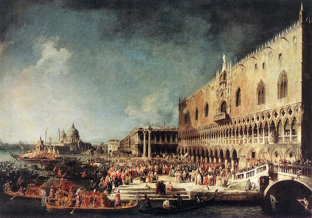 Canaletto's Paintings of Venice