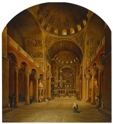 Grigory and Nikanor Chernetsov. The Interior of San Marco Cathedral