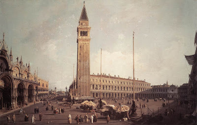 Canaletto. Piazza San Marco. Oil Paintings
