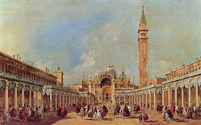 Francesco_Guardi. Oil Painting