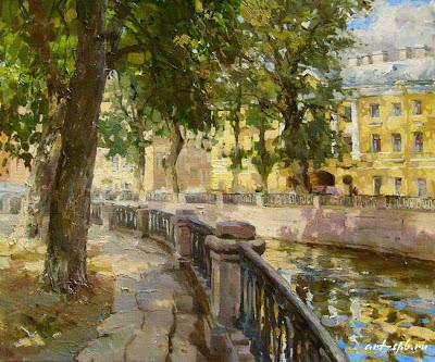 Saint Petersburg in Oil Paintings