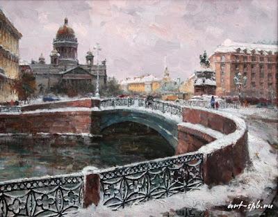 Painting of Saint Petersburg