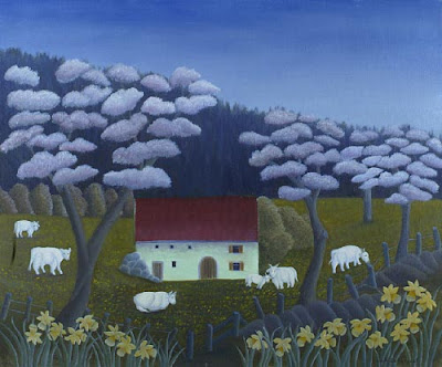 Noelle Demangeat. French Naive Artist