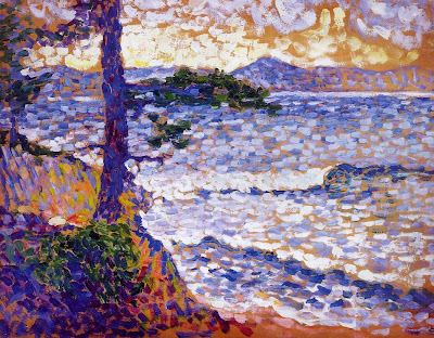 Henri Edmond Cross. The Mediterranean Coast