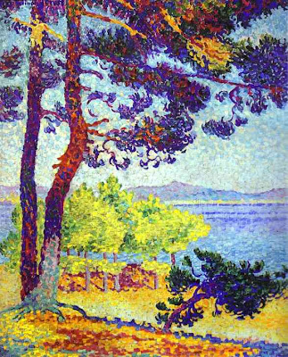 Henri Edmond Cross. Afternoon at Pardigon, 1907