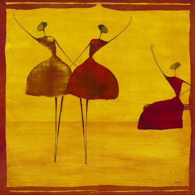 Thierry Ona. Dancers