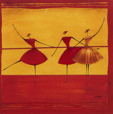 Thierry Ona. Ballerinas I