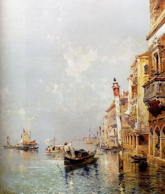 Franz Richard Unterberger. Canale Della Giudecca