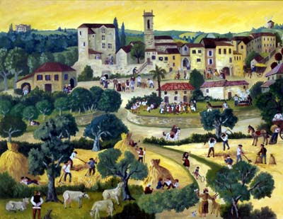 Gilles Brasseur. French Naive Artist