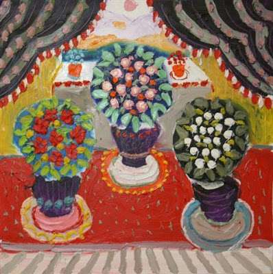 Fred Yates. Still Life Flowers