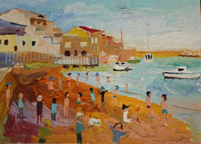 Fred Yates. Marseille, Small Beach