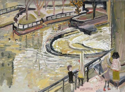 Fred Yates. Bradford at the Weir