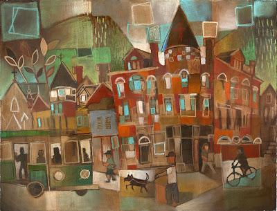 Painting by Ken Swinson