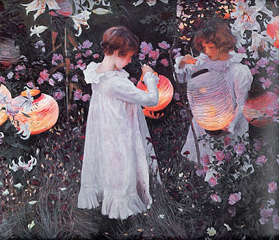 John Singer Sargent. Carnation, Lily, Lily, Rose
